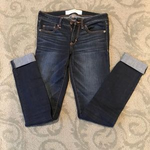 Abercrombie & Fitch cuffed jeans